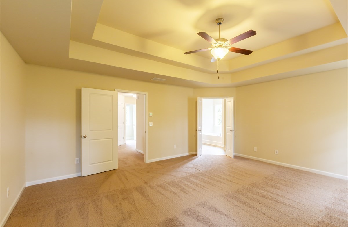 Ridgecrest quick move-in Master Bedroom with ceiling fan
