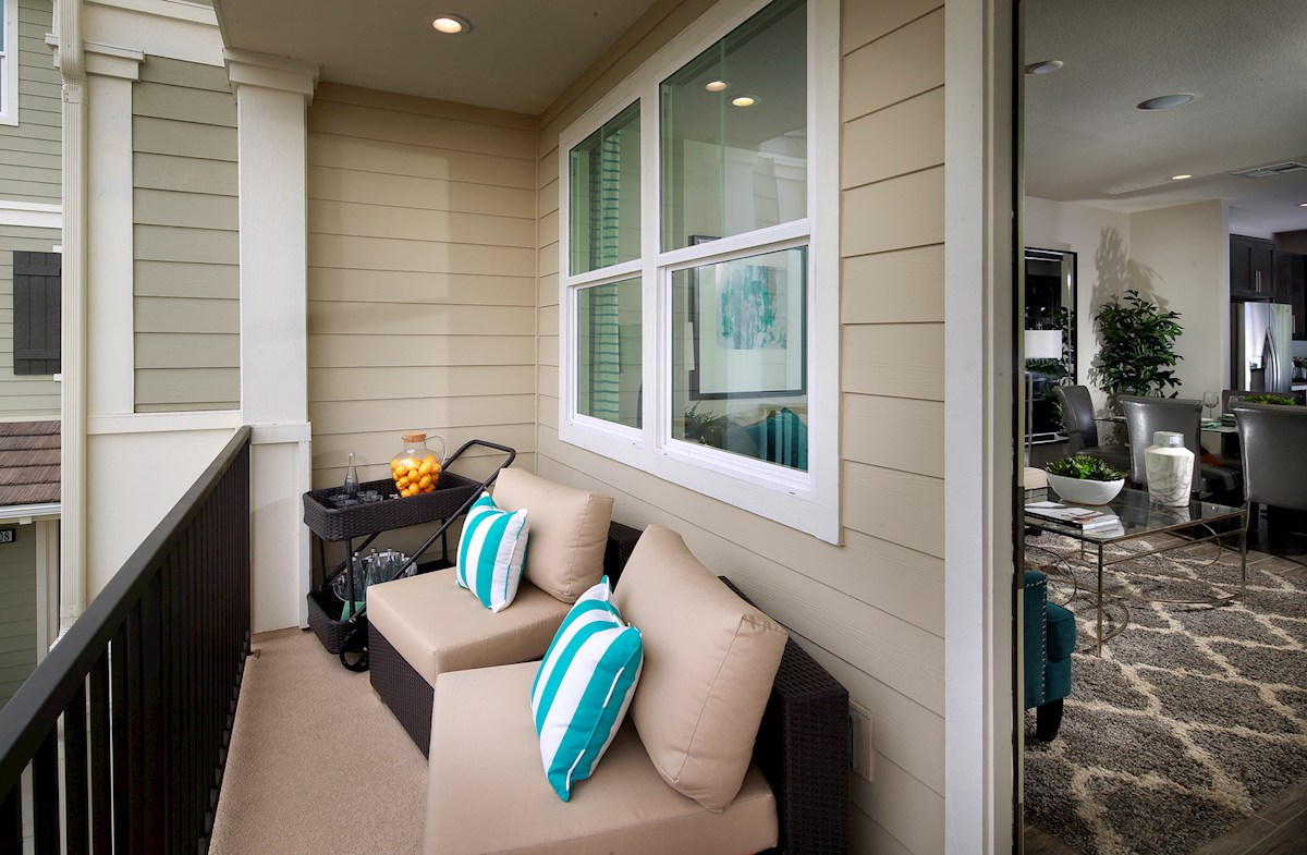 Bayside Landing Pipit covered deck