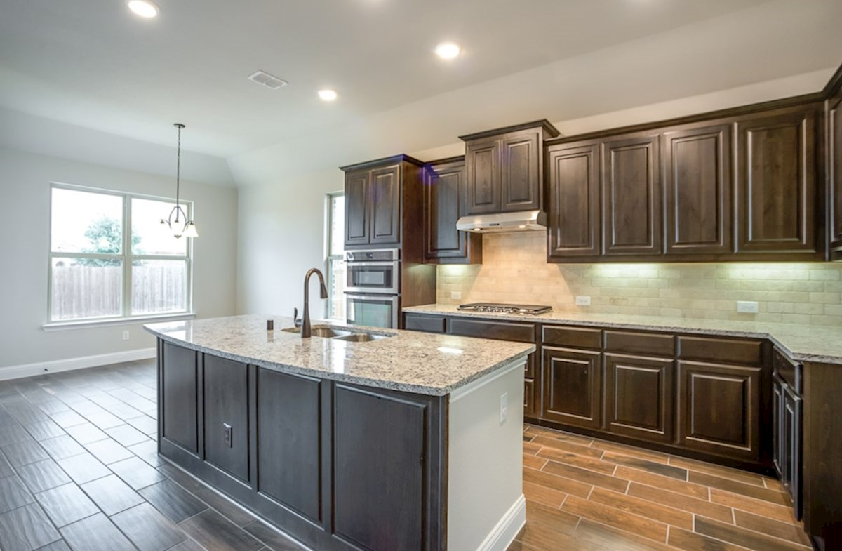 Blakely quick move-in granite kitchen countertops