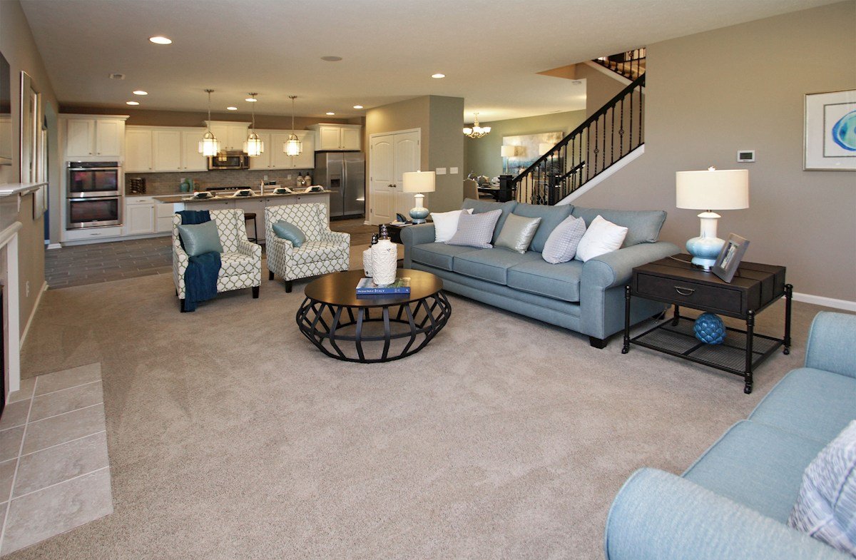 West Rail At The Station Jefferson large great room with plenty of space for furniture