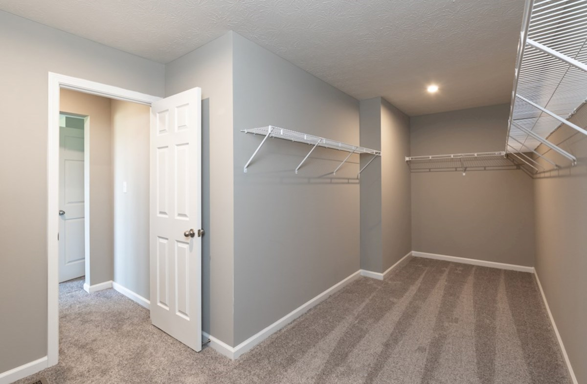 Shelby quick move-in large walk-in closet