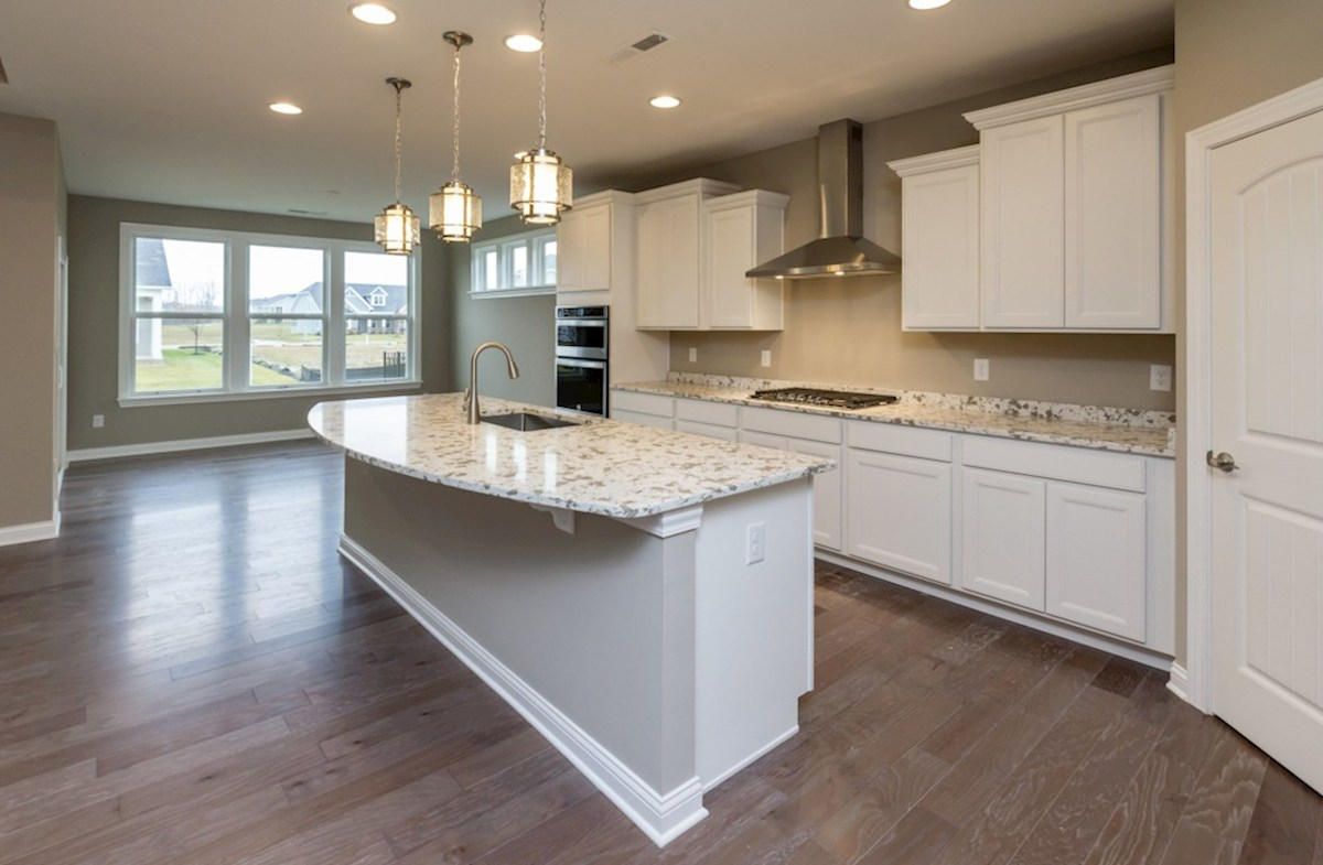 Cambridge quick move-in Spacious kitchen island for casual dining