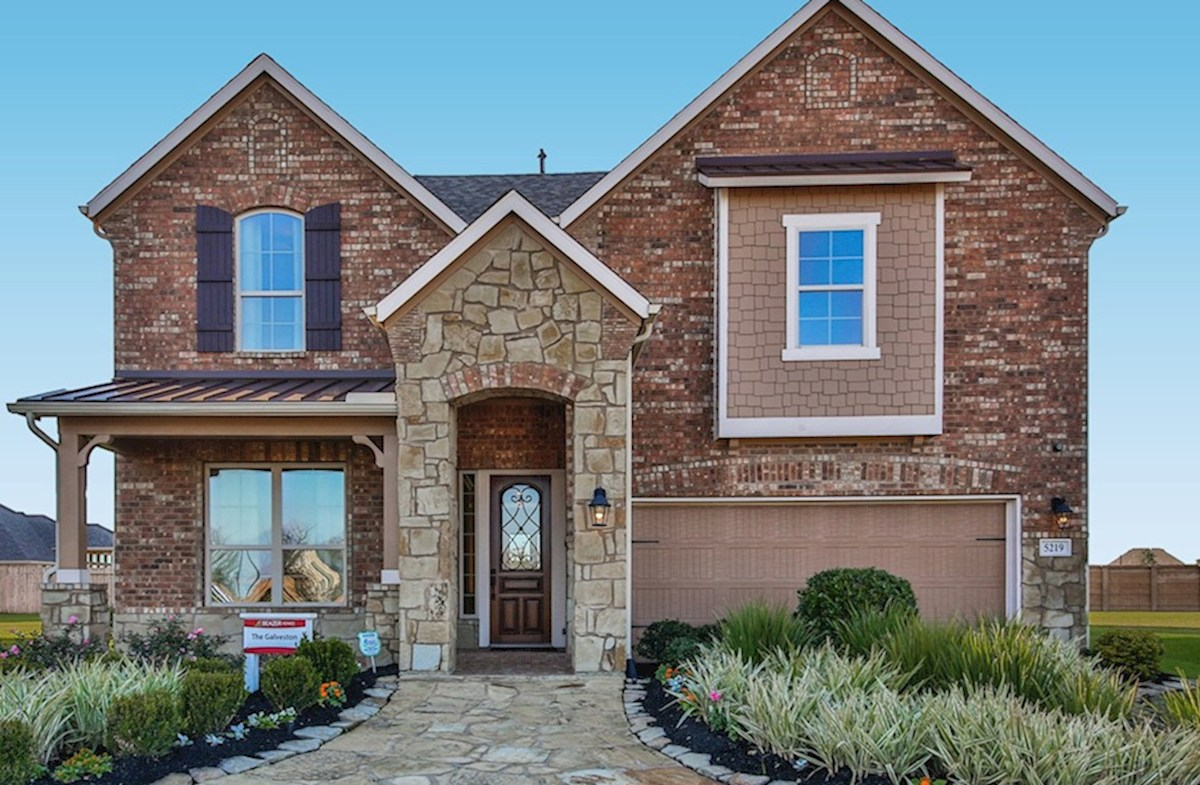 Galveston Elevation French Country O quick move-in