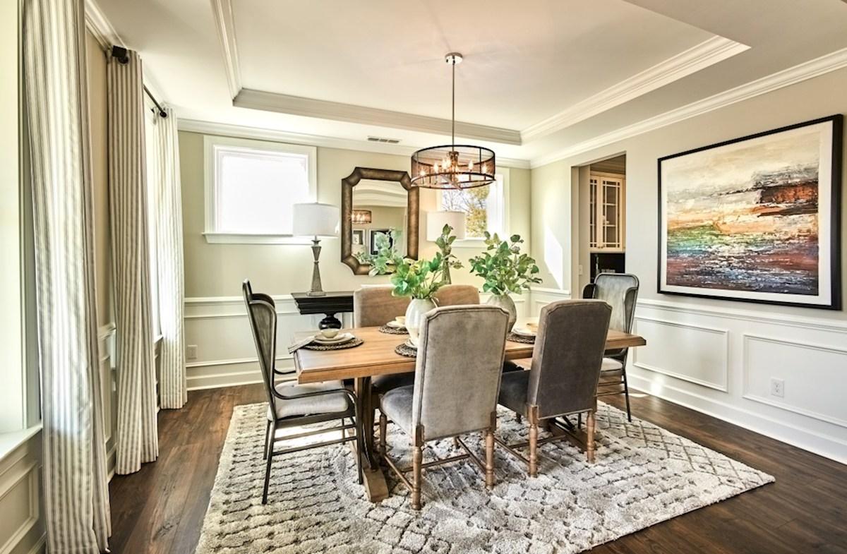Bridgeport Sage Sage dining room