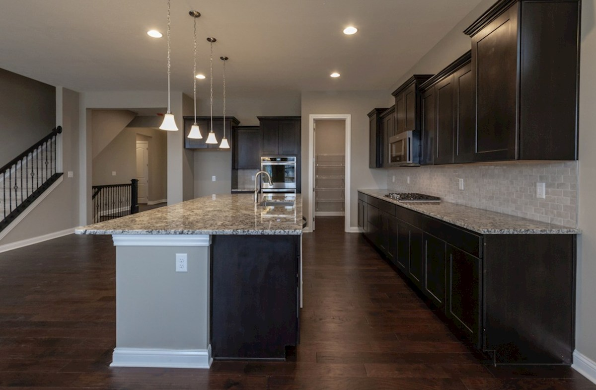 Windsor quick move-in kitchen with stainless steel appliances
