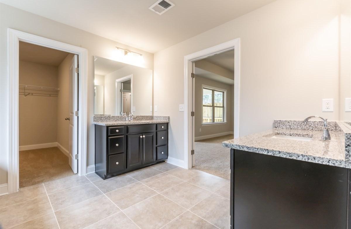 Robinson Park Callaway Master Bathroom with dual sinks