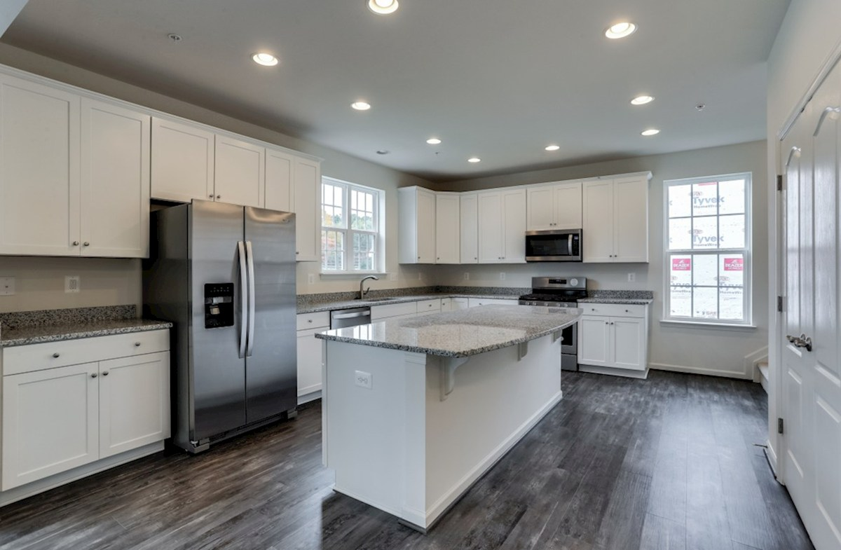 Harrison quick move-in Harrison kitchen featuring stainless steel appliances