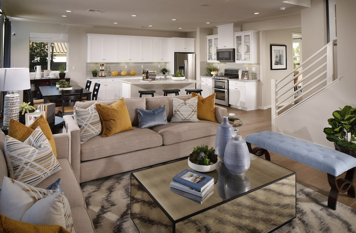 Veranda Ocotillo The living areas of the home are designed with your furniture in mind.