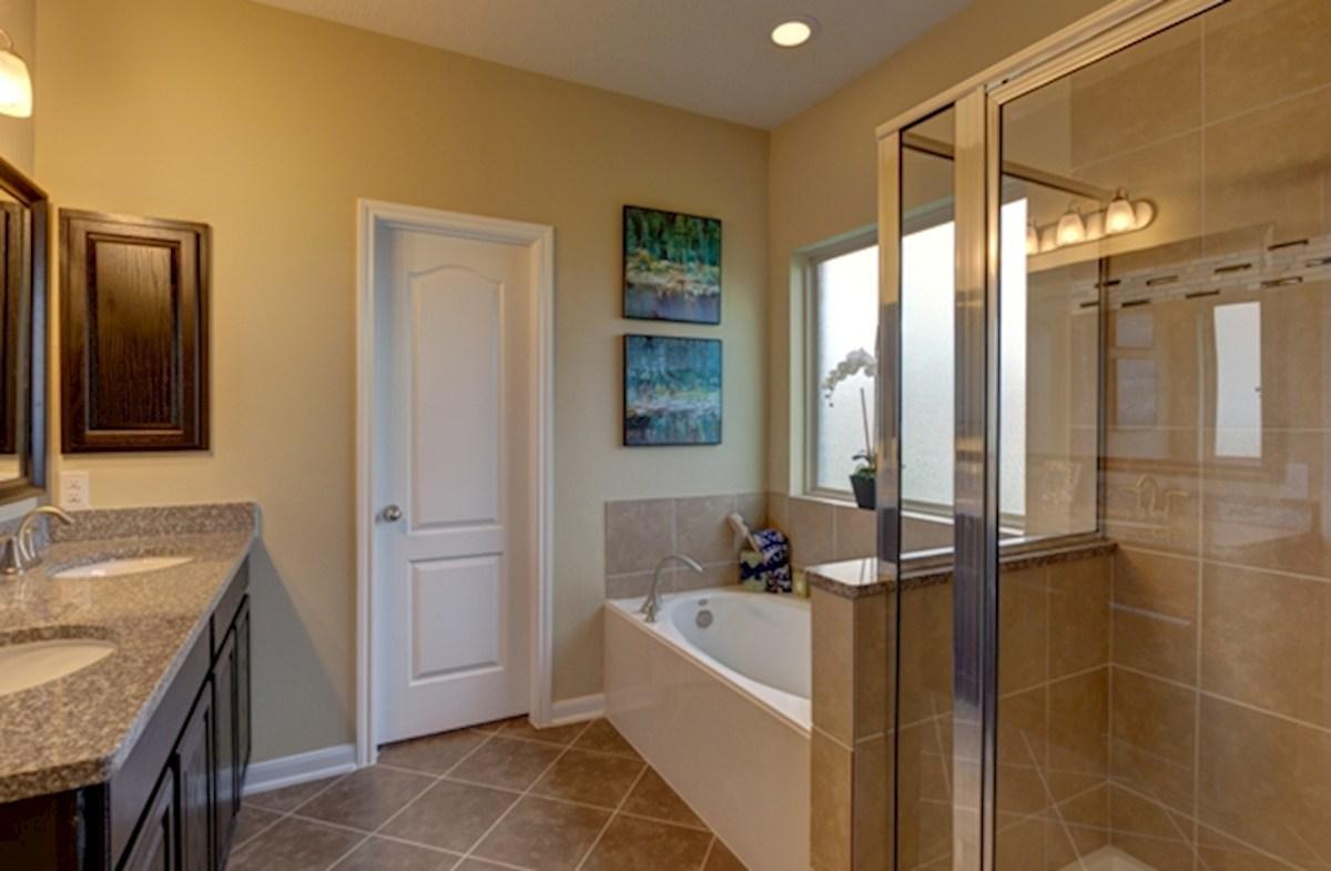 King Crossing Julian spa-inspired master bathroom