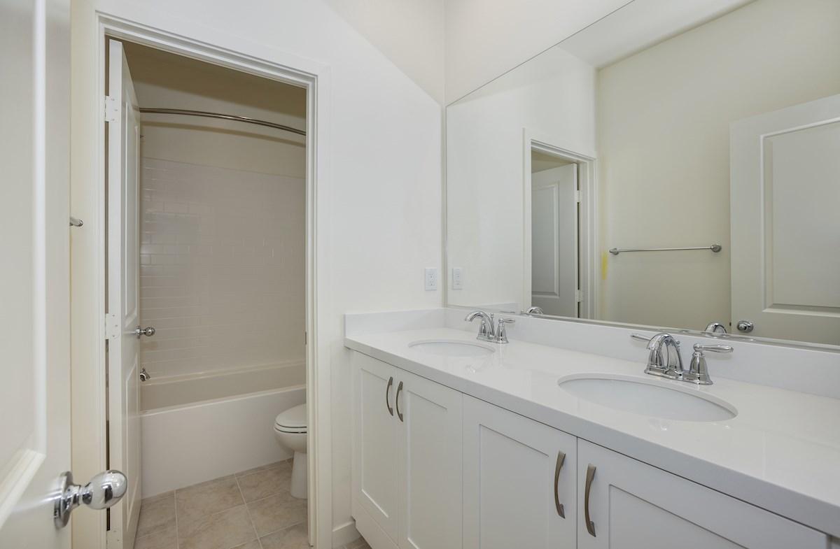 Primrose quick move-in additional upstairs bathroom