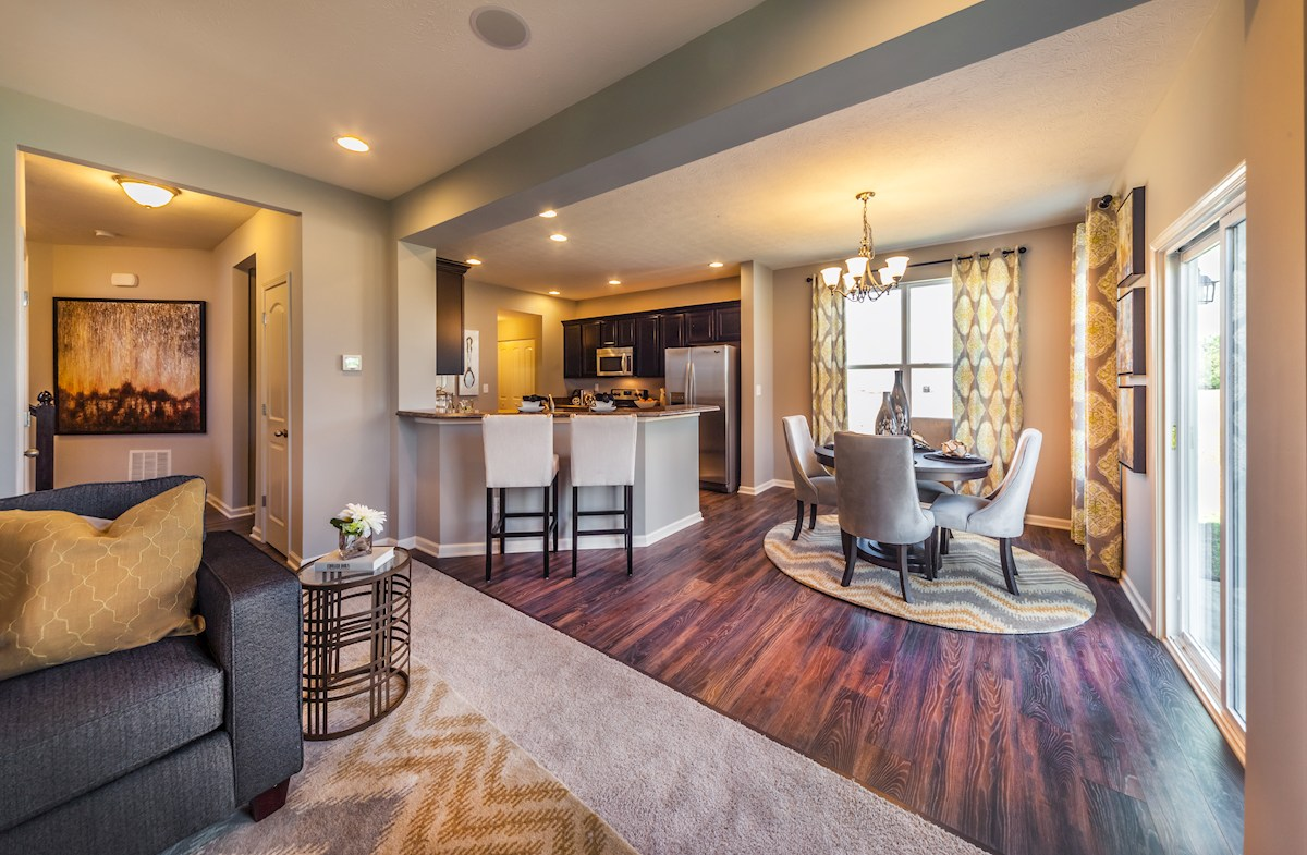 Shadow Creek Farms Manchester Open concept for relaxed living.