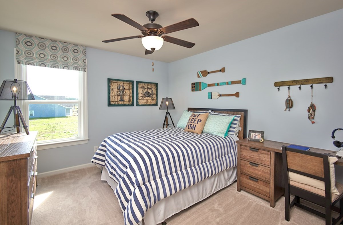Surfside Plantation Windsor secondary bedroom is spacious