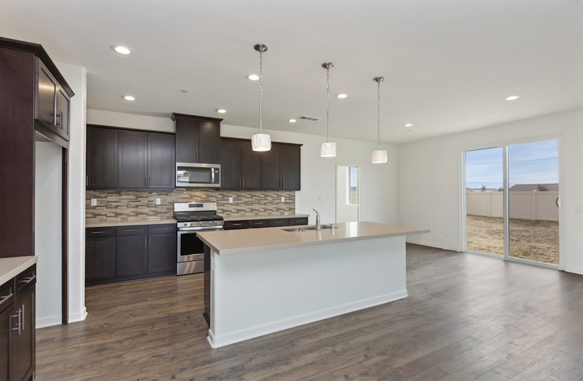 Sonoma quick move-in Gourmet kitchen boasts an oversized island, stainless steel appliances, and stunning granite countertops