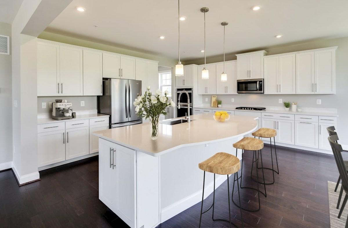 Enclave at River Hill Augusta Augusta kitchen in white