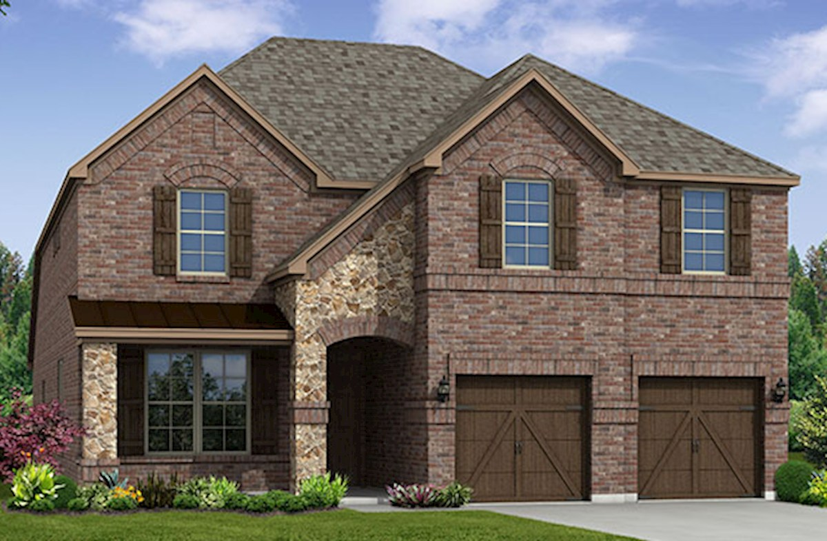 Blackburn home plan in creeks of legacy celina tx for Blackburn home