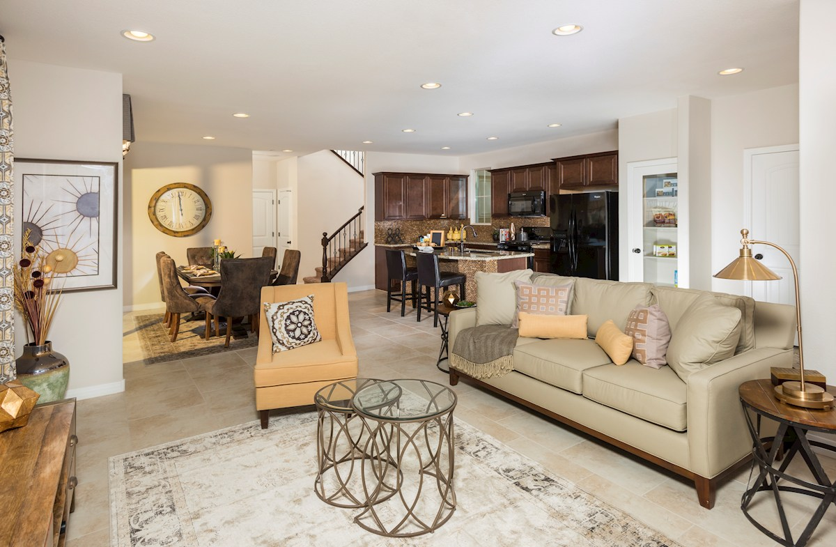 Reliance Collection at Inspirada Bayview Spacious family room