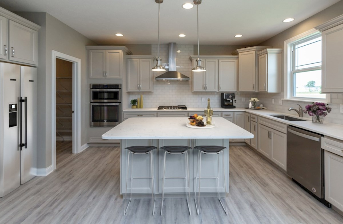 Tarkington quick move-in Gourmet kitchen with quartz countertops