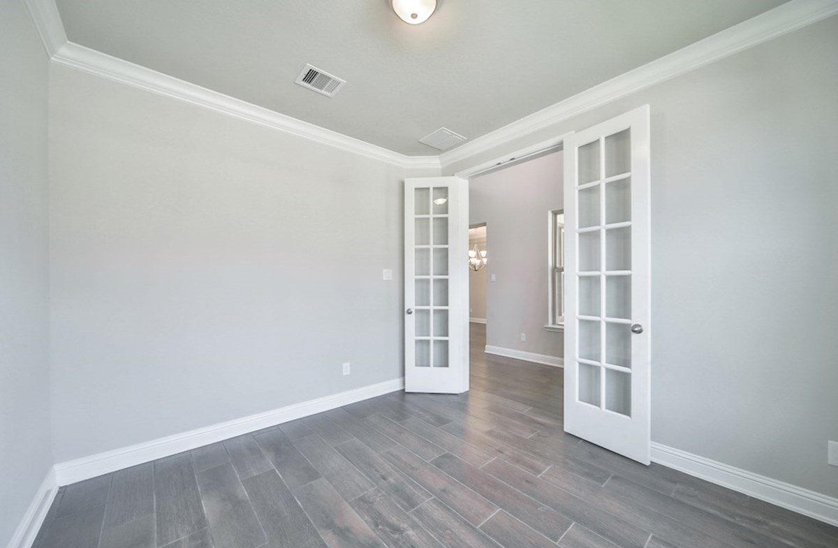 LaGrange quick move-in private study with French doors