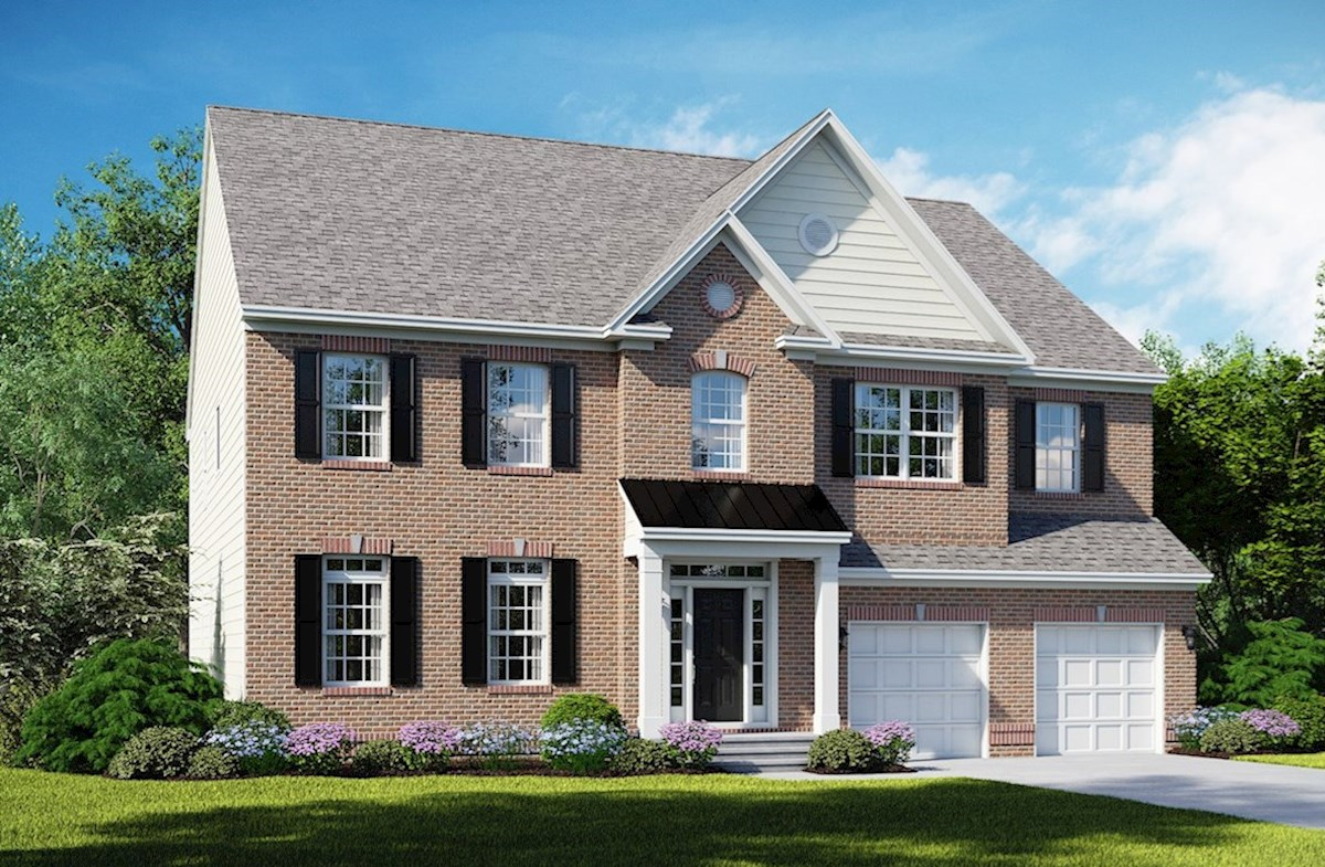Federalsburg B with full brick front
