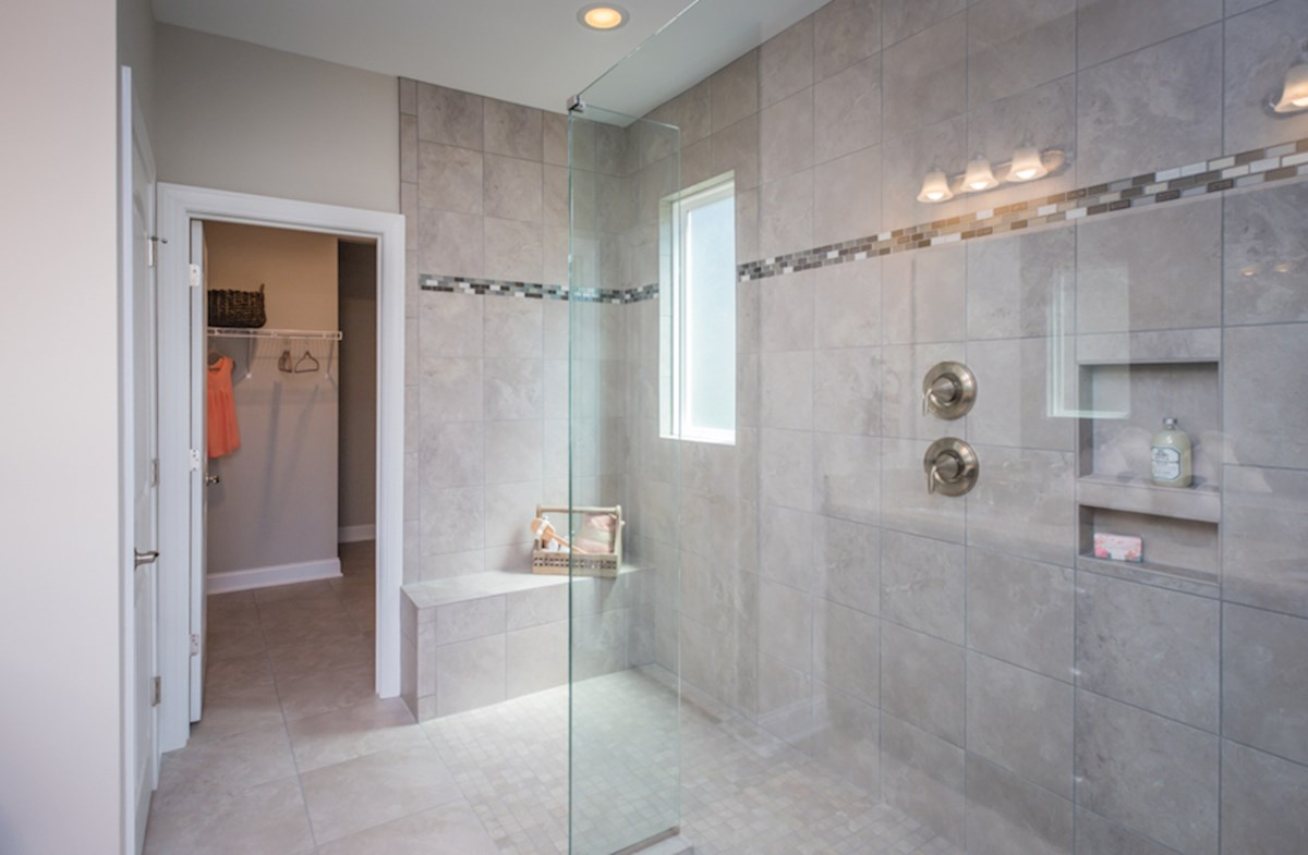 large sports shower