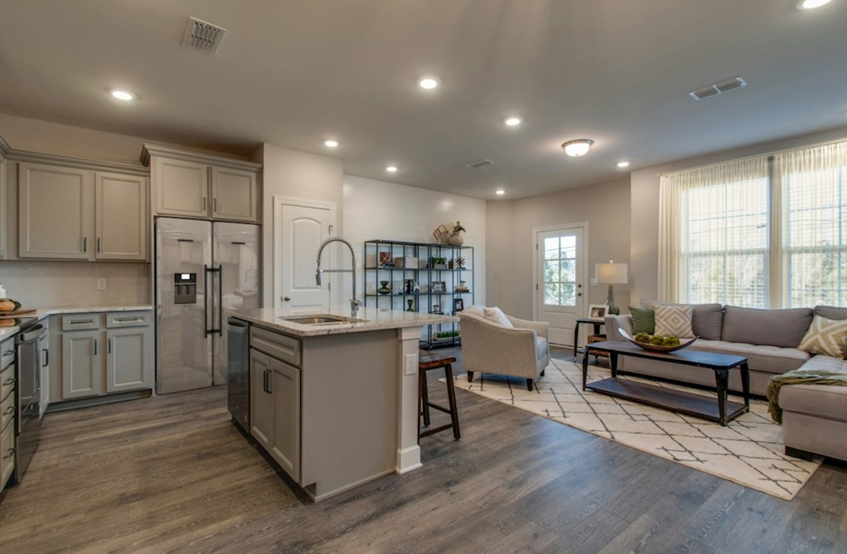 Harpeth Springs Village Vanderbilt light-filled kitchen