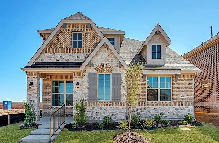 Brazos Elevation French Country A quick move-in