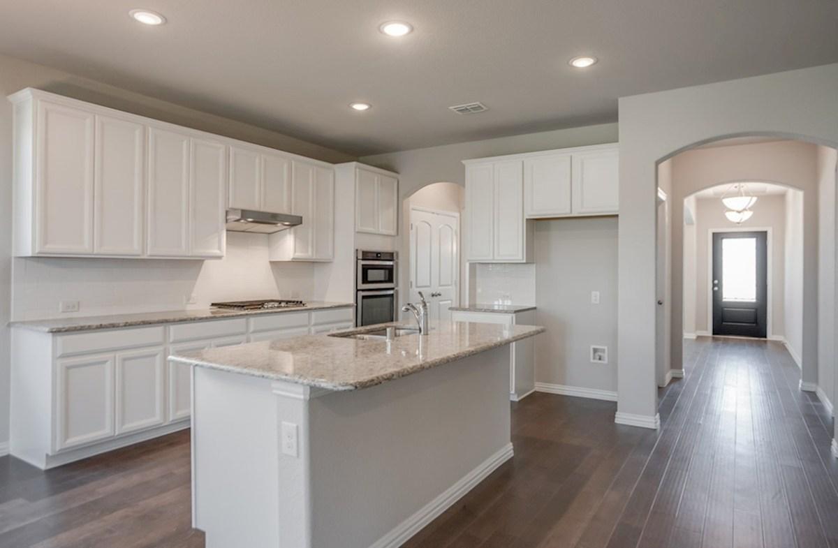 Prescott quick move-in Prescott large kitchen with spacious island