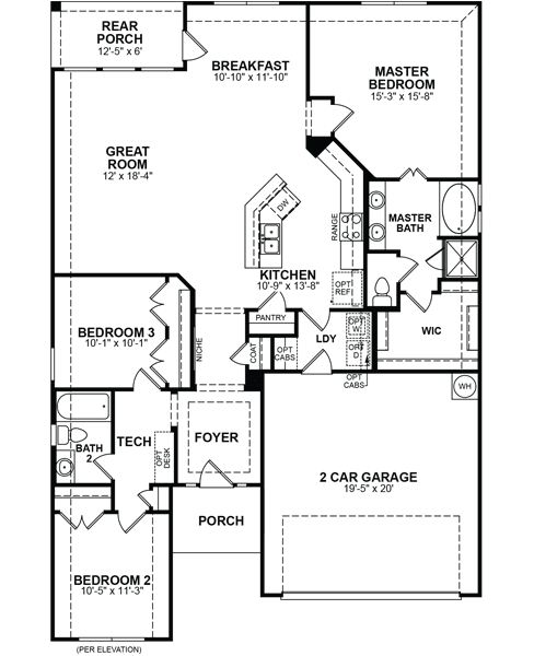 Beazer Homes Floor Plans Thefloors Co
