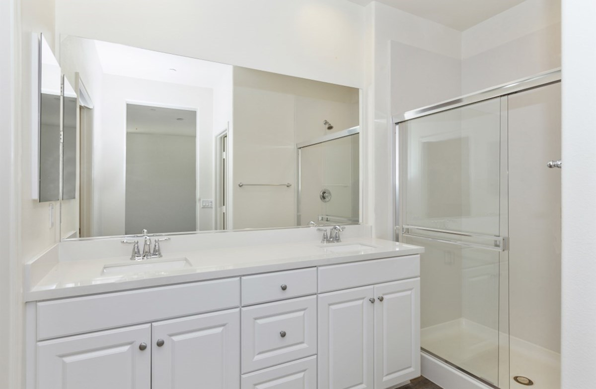 Liberty quick move-in Liberty master bathroom