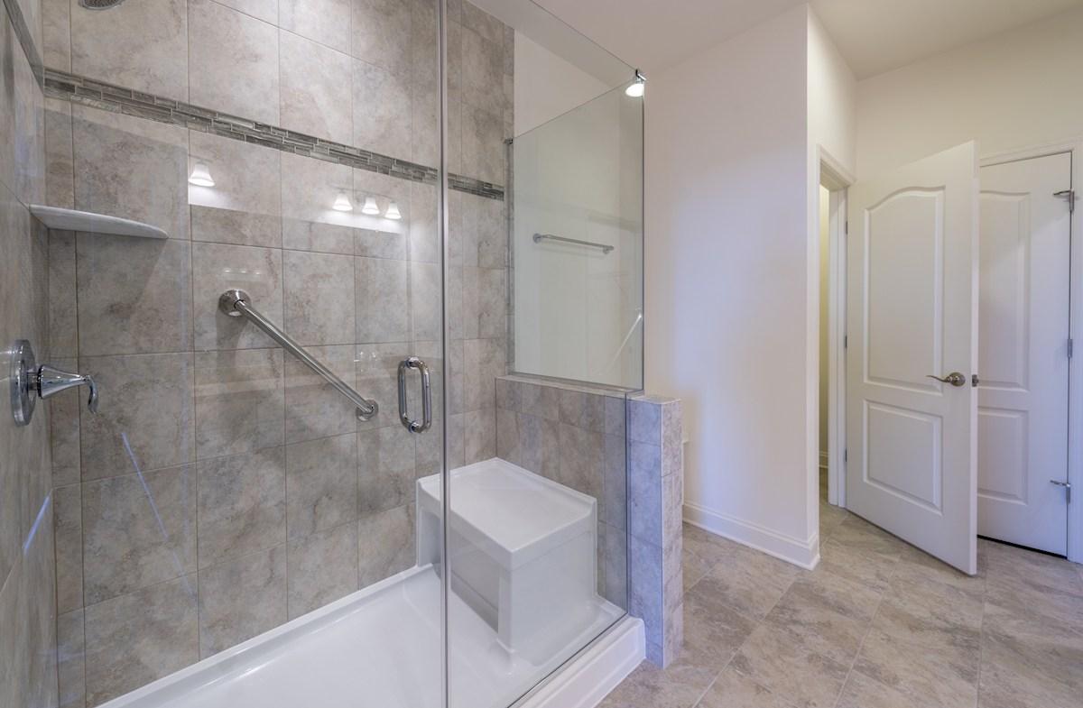 Bayard quick move-in Spa-inspired master bathroom