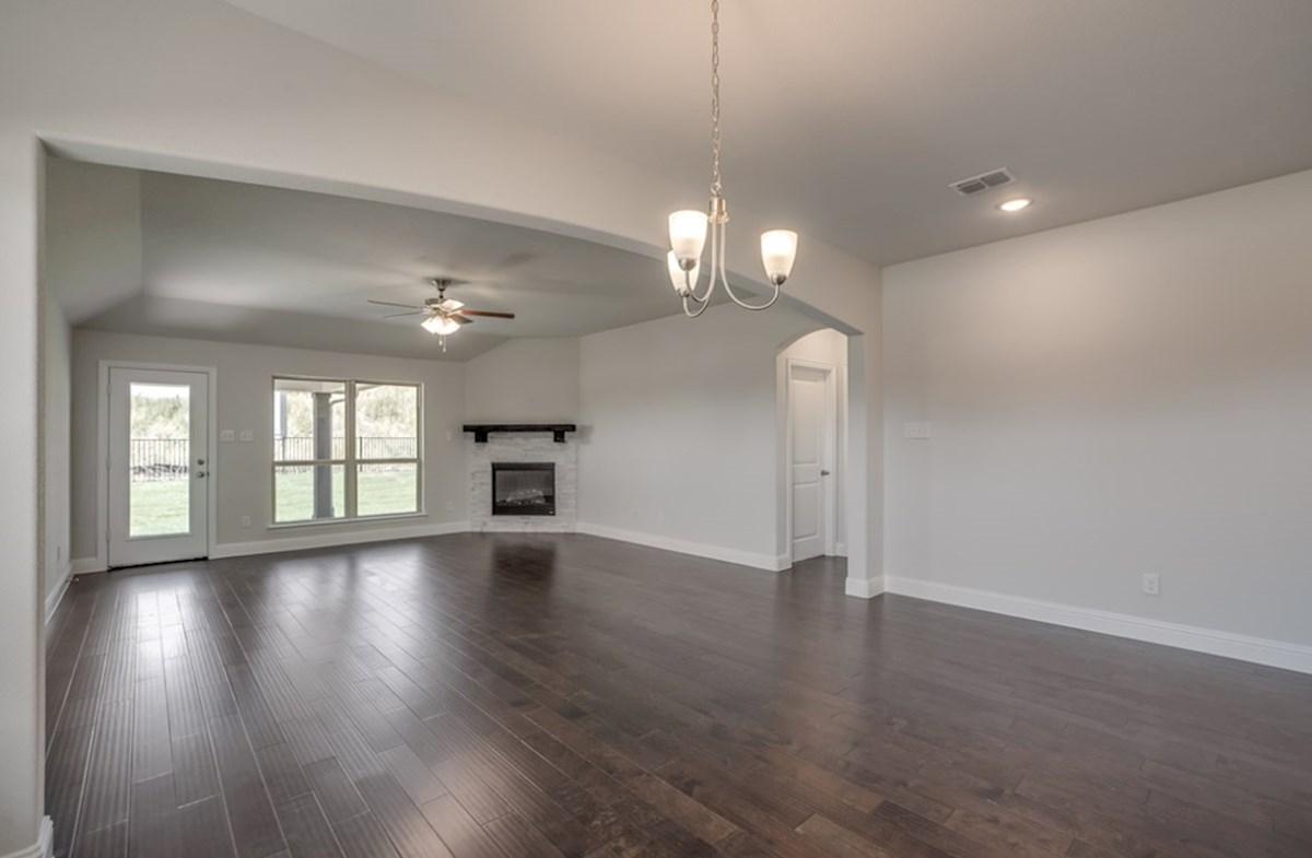 Silverado quick move-in Silverado spacious great room with large windows