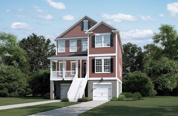 Archdale Elevation Traditional M