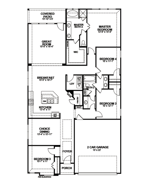 Covington Floor Plan Home Fatare