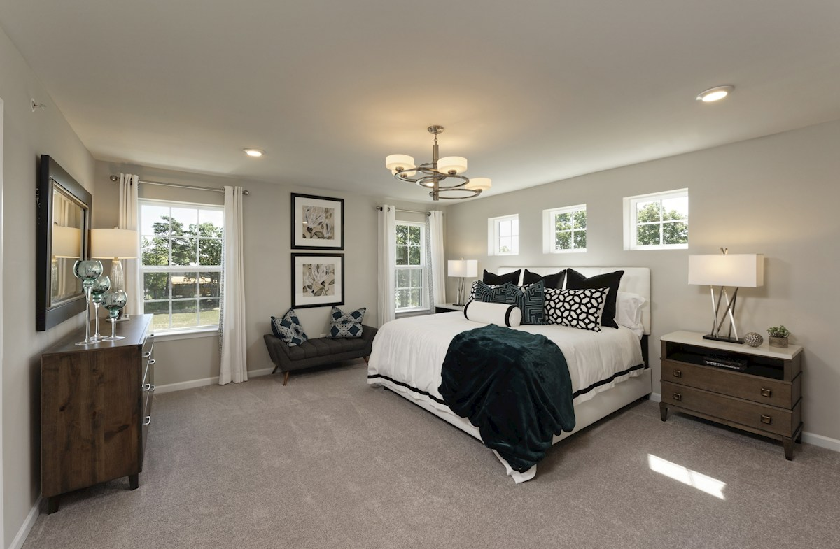 The Preserve at Windlass Run Townhomes  Frederick Frederick Master Suite