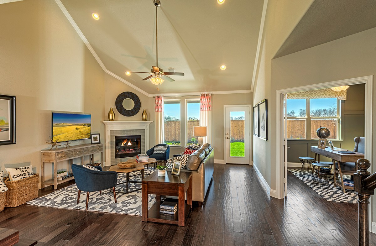 Glen View Prescott Prescott large great room for entertaining