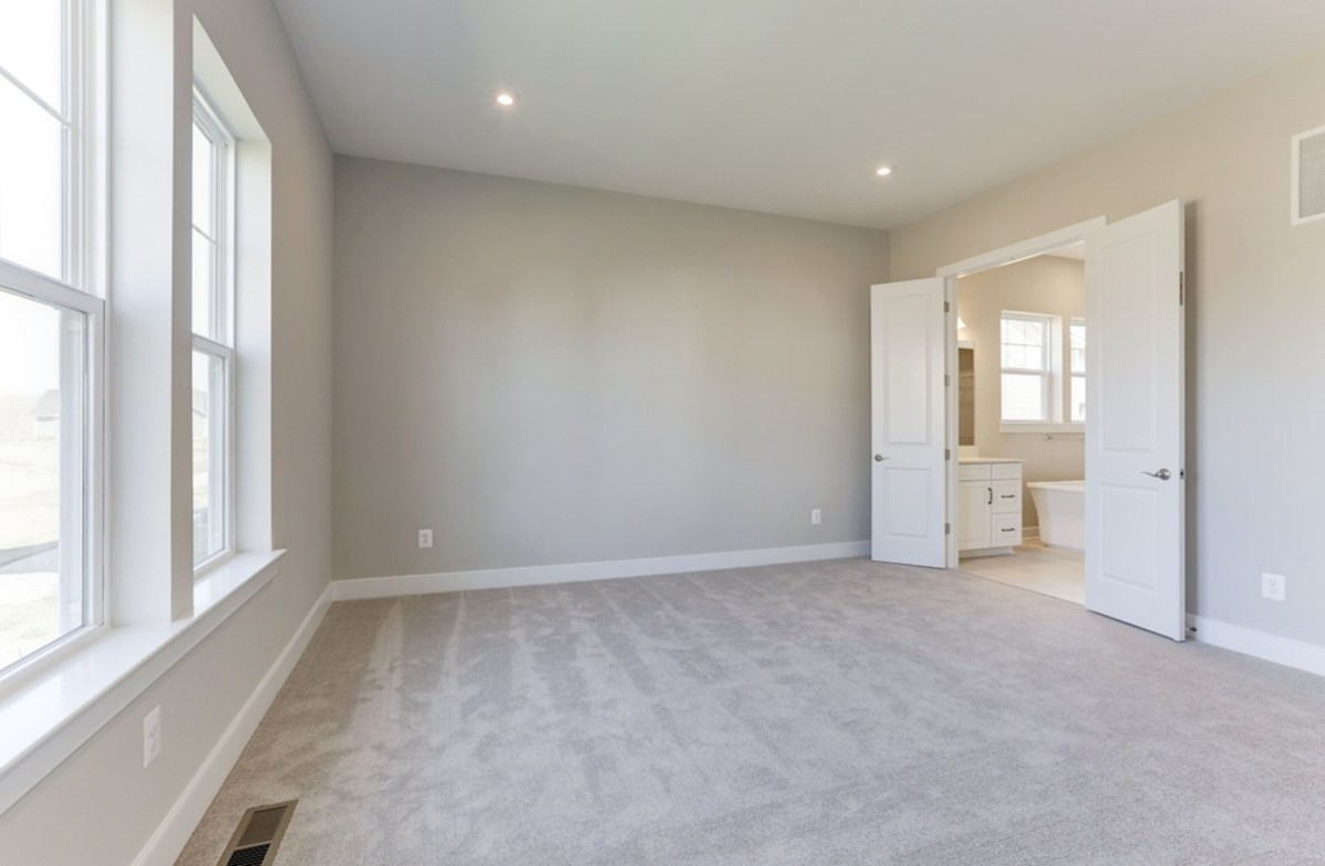 Hadleigh quick move-in main-level master bedroom