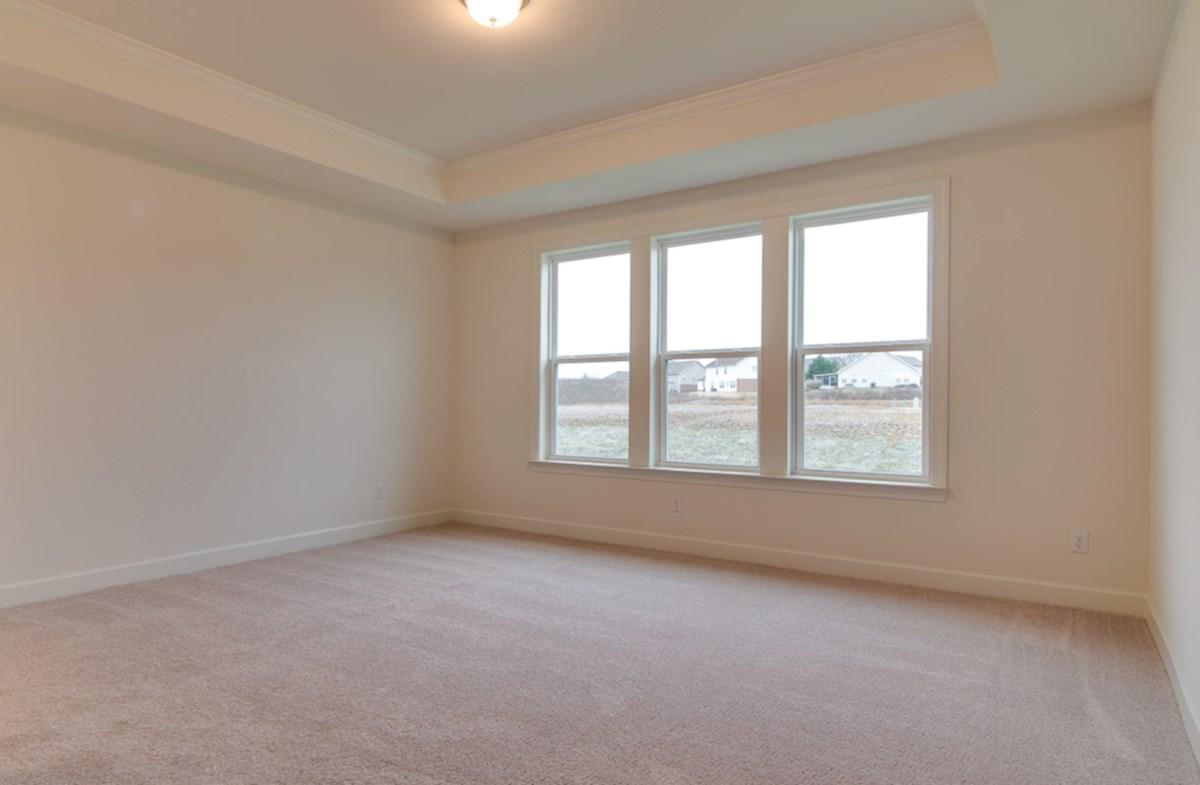 McKinley quick move-in spacious master bedroom
