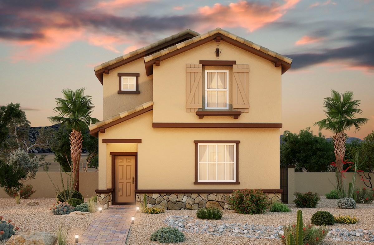 Las Vegas,NV two-story home Ravenna at Skye Canyon