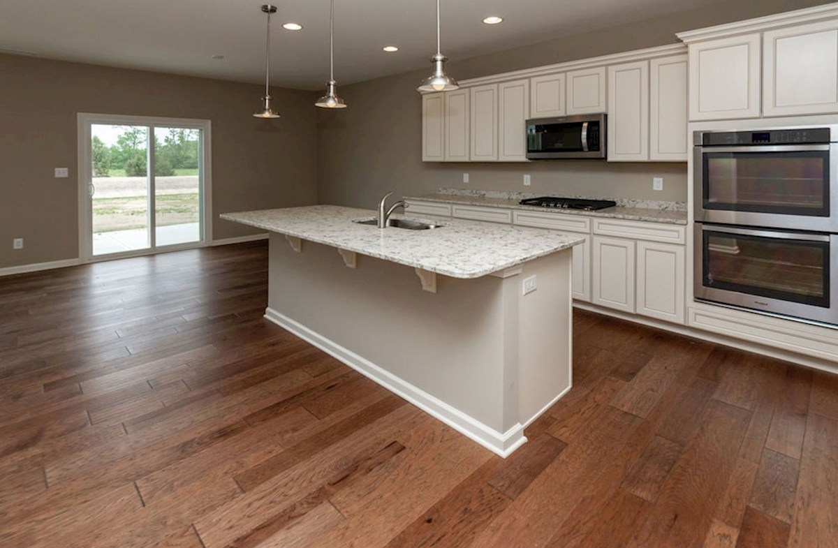 Summerland Park Morgan kitchen with white cabinets