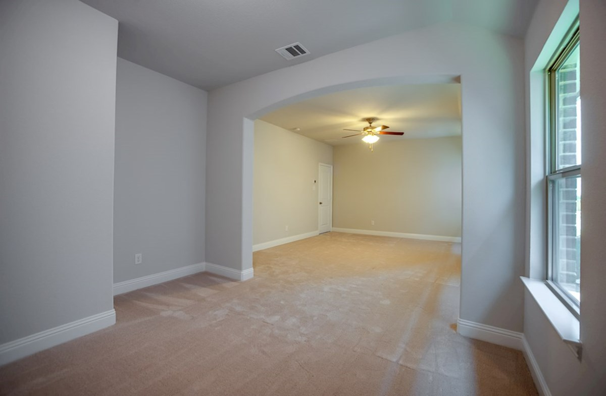Millbrook quick move-in master bedroom opens to private sitting room