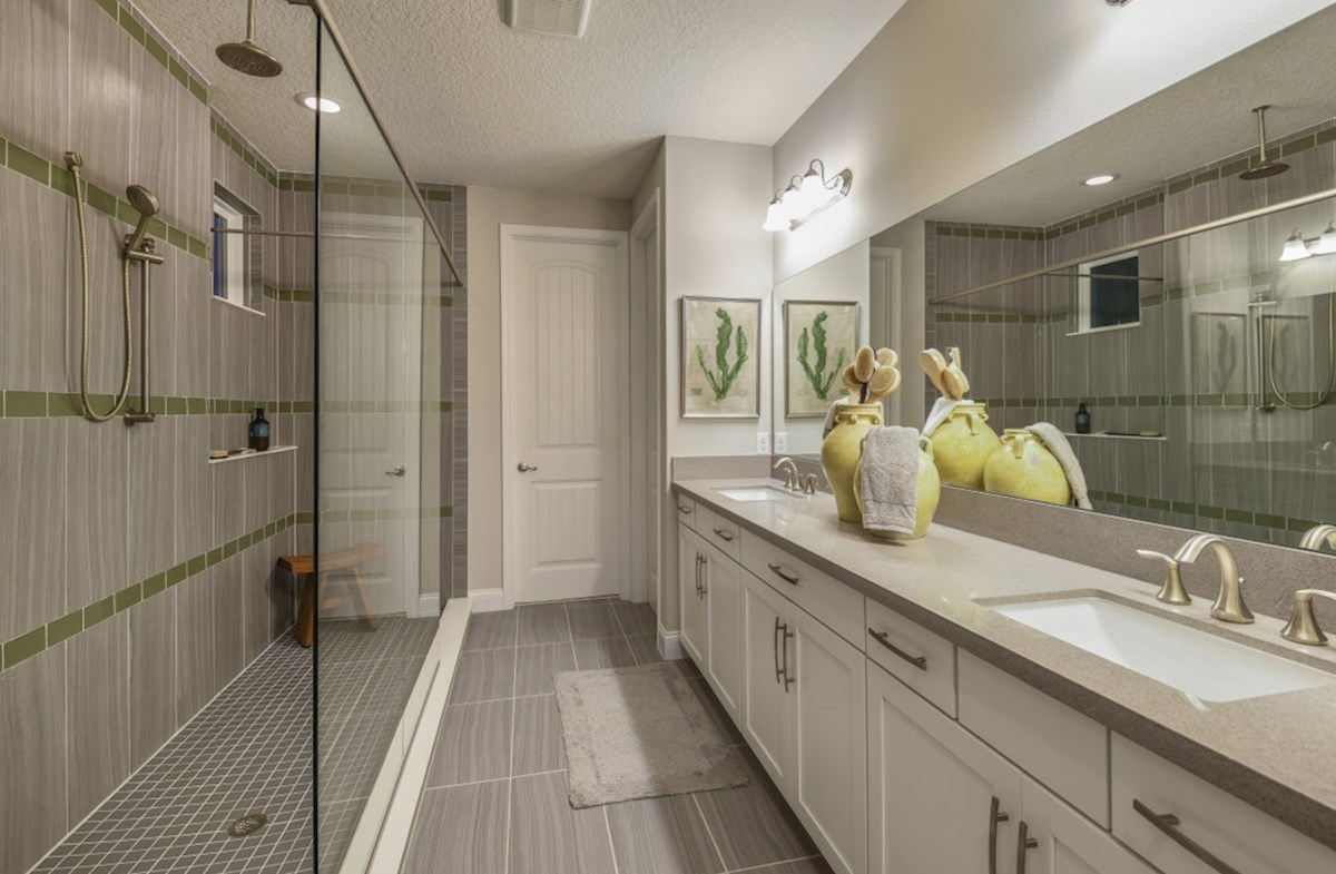 Luciana quick move-in luxurious master bath