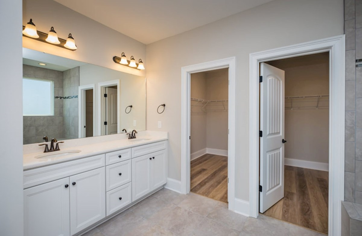 Blair quick move-in spacious dual closets in master bathroom