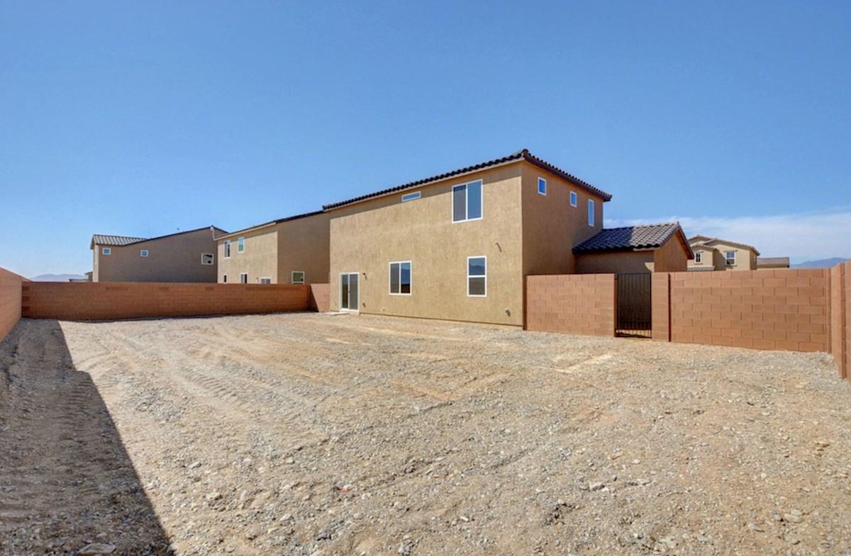 Verano quick move-in Burson Enclave, Pahrump, NV Verano Backyard