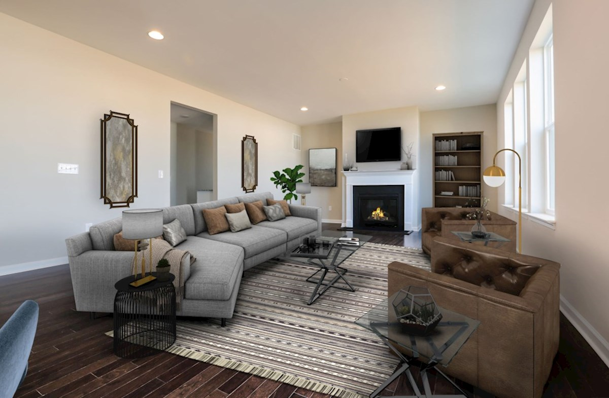 Notting Hill quick move-in cozy family room
