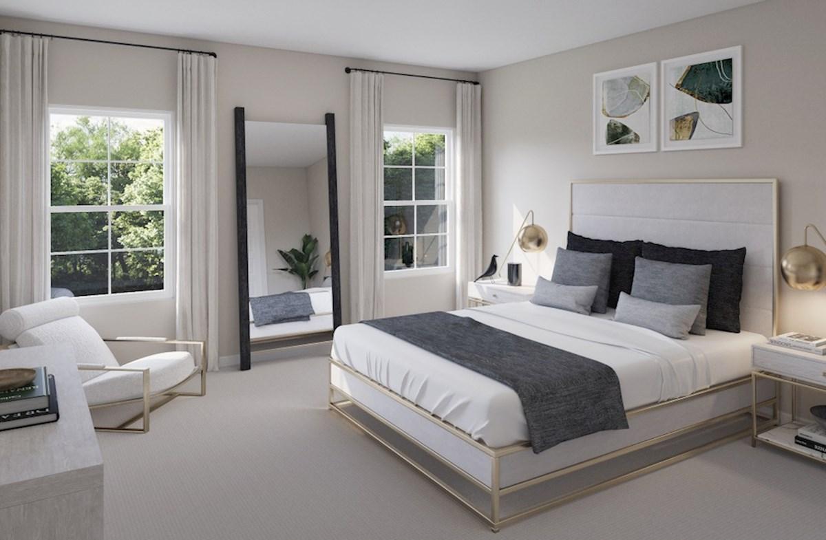 Hampton Place Waverly II Waverly II master bedroom