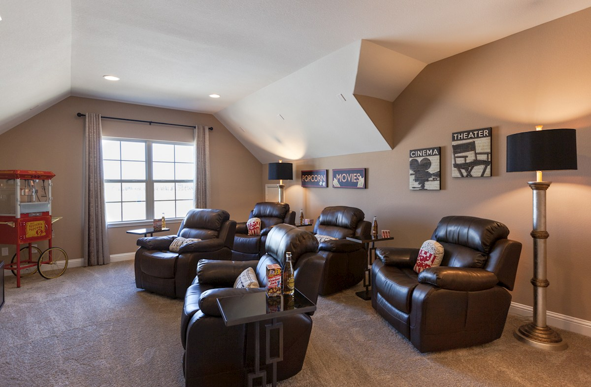 Young Ranch Tanner spacious game room