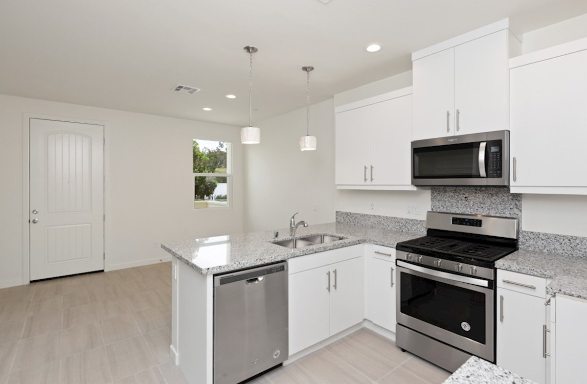 Foxtail quick move-in Entertain guests while preparing gourmet meals in this open-concept kitchen and great room