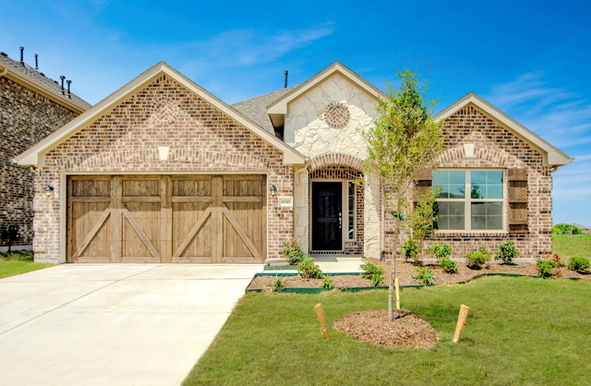 Millbrook Elevation English Revival B quick move-in