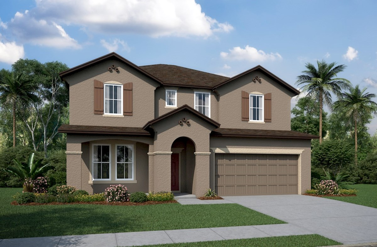 Seagrass Home Plan In Avalon Park West Wesley Chapel Fl Beazer