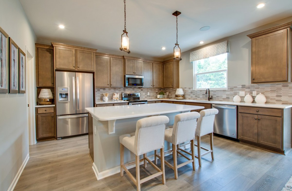 Spring Creek Garner chef-inspired kitchen